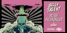 Billy Talent et Rise Against à Laval, Québec, Ottawa et Toronto en avril 2022