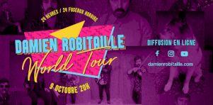 Damien Robitaille en «World Tour virtuelle»
