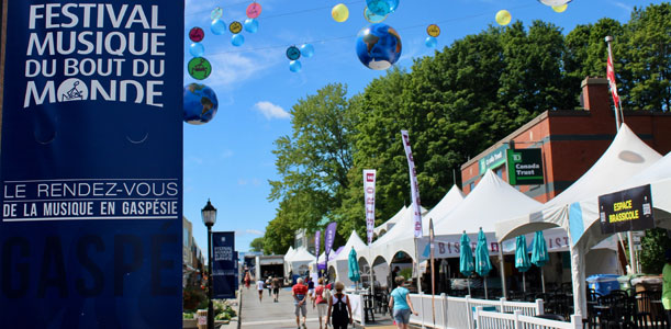 Festival du Bout du Monde de Gaspé (Festival)
