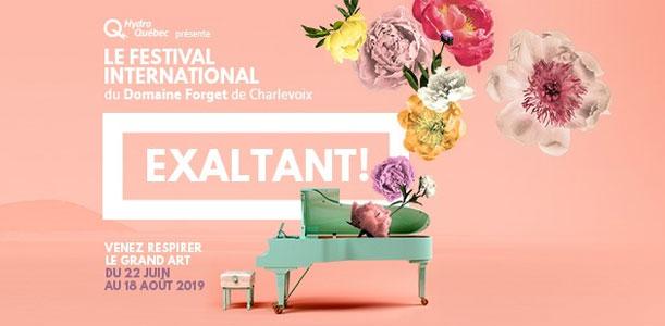 Festival international du Domaine Forget de Charlevoix