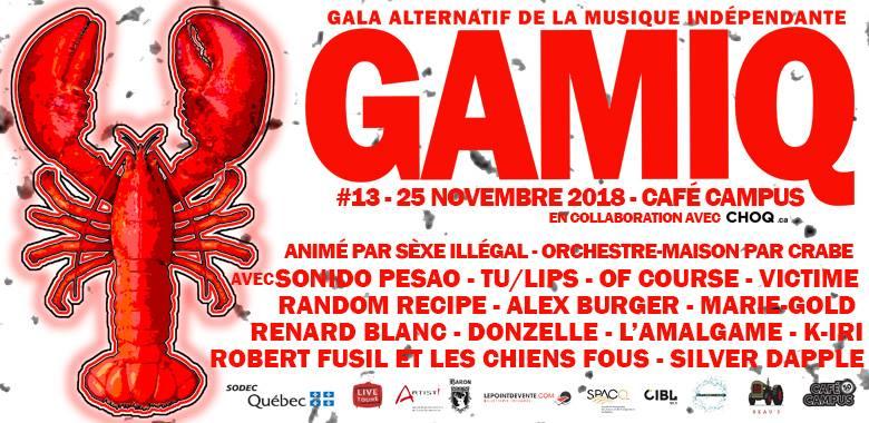 Gala GAMIQ 2018