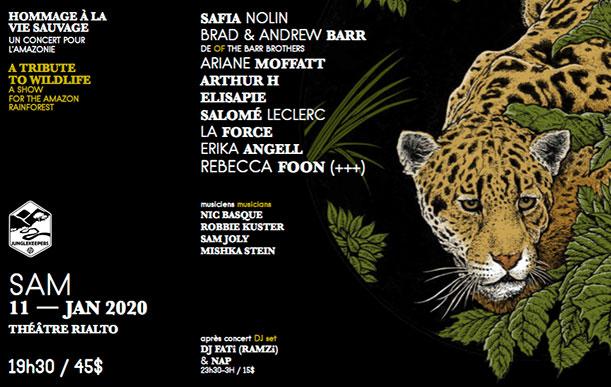 Hommage à la vie sauvage - Un concert pour l'Amazonie