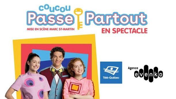 Coucou Passe-Partout - Le Spectacle