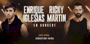 Enrique Iglesias et Ricky Martin à Montréal en octobre 2020