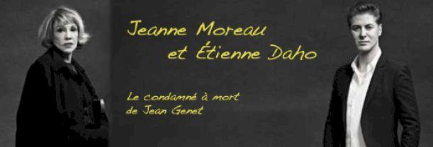 Étienne Daho et Jeanne Moreau