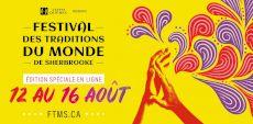 Le Festival des Traditions du Monde de Sherbrooke passe en mode virtuel avec des prestations à visionner pendant 5 jours