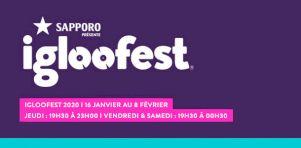 Igloofest 2018 | Petit Biscuit, Kaytranada, Bonobo, NGHTMARE, Sasha et John Digweed à Montréal en janvier !