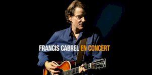 Francis Cabrel de retour à Montréal, Sherbrooke, Québec, Ottawa et Trois-Rivières en juin 2019