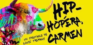 Hip-Hopéra Carmen   Un spectacle musical gratuit alliant rap et opéra à la Place de la Paix