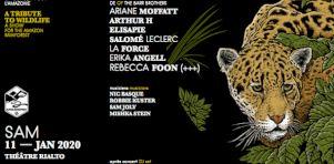 Un concert pour la forêt amazonienne avec Safia Nolin, Ariane Moffatt, Arthur H, Elisapie et plusieurs autres en janvier 2020