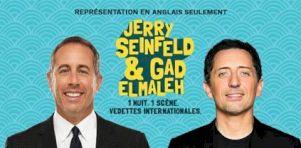 Jerry Seinfeld à Ottawa en août