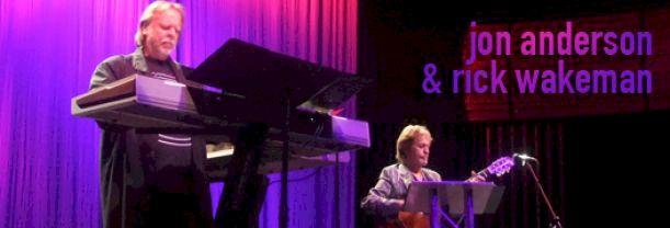 Jon Anderson et Rick Wakeman