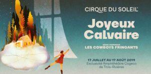 Joyeux Calvaire, hommage aux Cowboys Fringants du Cirque du Soleil à l'Amphithéâtre Cogeco | Folklore fusion