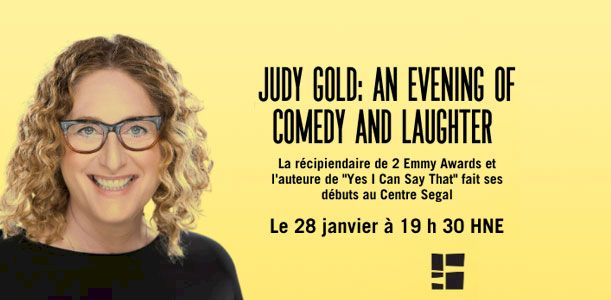 Judy Gold: An Evening of Comedy and Laughter