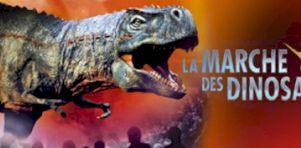 La Marche des dinosaures à Québec en juin