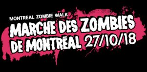 La Marche des Zombies de retour à l'Halloween 2015 au centre-ville de Montréal