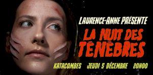 Laurence-Anne aux Katacombes | Lumineuses ténèbres