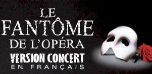 Le Fantôme de l'Opéra – Version concert à Montréal et Québec en janvier 2020