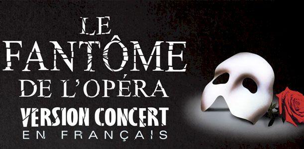 Le Fantôme de l'Opéra (version concert en français)