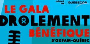 Gala drôlement bénéfique d'Oxfam Québec 2017 | Entrevue avec Anaïs Favron : liberté et spontanéité au menu