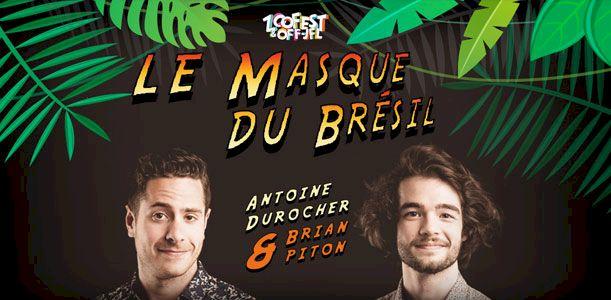 Le masque du Brésil