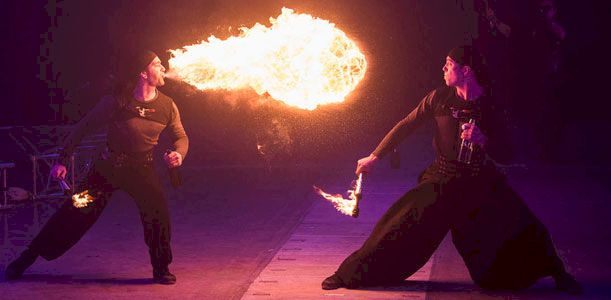 Les maîtres de feu