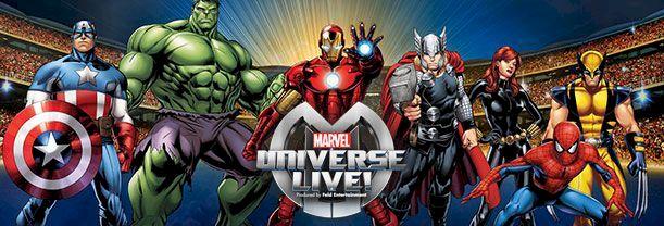 L'univers Marvel EN SPECTACLE! - L'Ère des héros