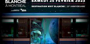 Nuit Blanche 2019 à Montréal | Nuit de groupe