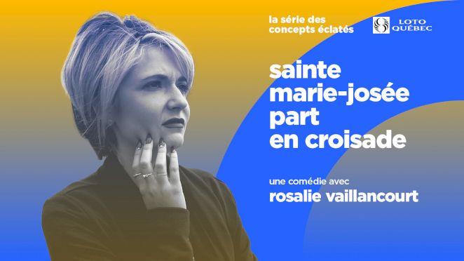 Sainte Marie-Josée part en croisade
