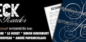 Beck Song Reader vu par le Québec | Le Husky interprète Old Shanghai