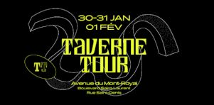 Taverne Tour 2018 | Galaxie, Fred Fortin, A Place to Bury Strangers et plus à la 3e édition !