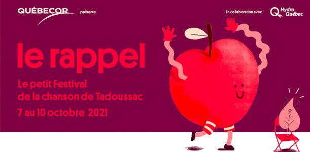 le rappel - Le petit festival de la chanson de Tadoussac
