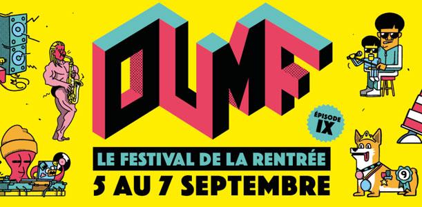 OUMF 2018 - Le festival de la rentrée