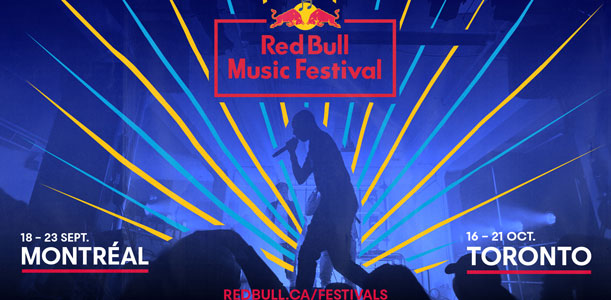 Red Bull Music Festival 2019 - Montréal
