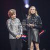 Alice Albright et Diane Kruger, conférencières au Centre Bell pour le concert Global Citizen©Jeff Lambert