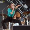 Le groupe canadien July Talk assurait la première partie.