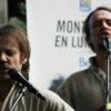 Fire/Works en prestation lors de la conférence de presse. Photo par Manon Boquen