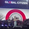 Le Premier ministre Justin Trudeau et Sophie Grégoire-Trudeau  au Centre Bell pour le concert Global Citizen©Jeff Lambert