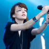 Chvrches, photo par Karine Jacques